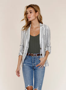 Adelaide Striped Blazer