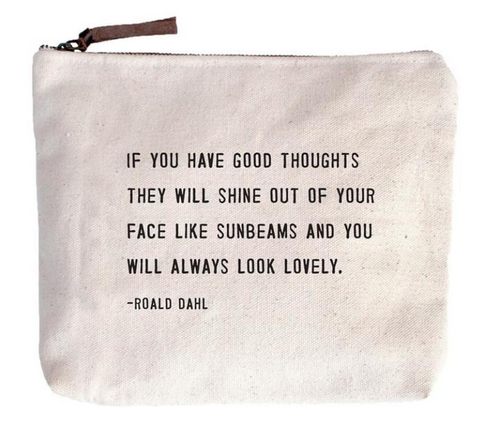 Always Look Lovely Canvas Bag