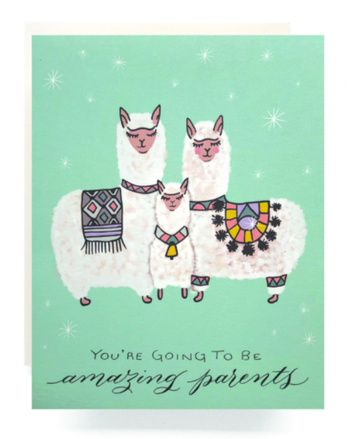 You're Going To Be Amazing Parents Card
