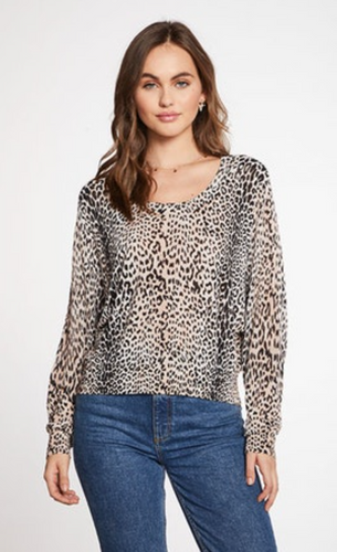 Long Sleeve Animal Print Raglan