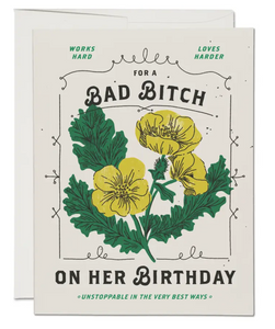 Bad Bitch Card