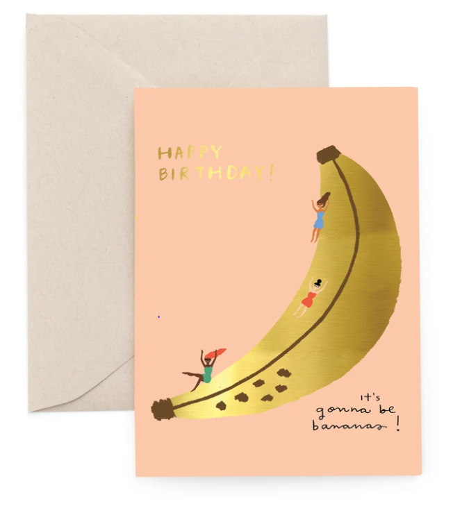 Banana Birthday Card
