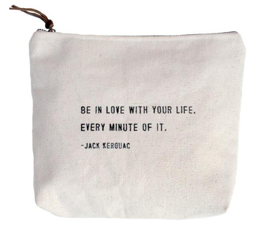 Be In Love With Your Life Canvas Bag