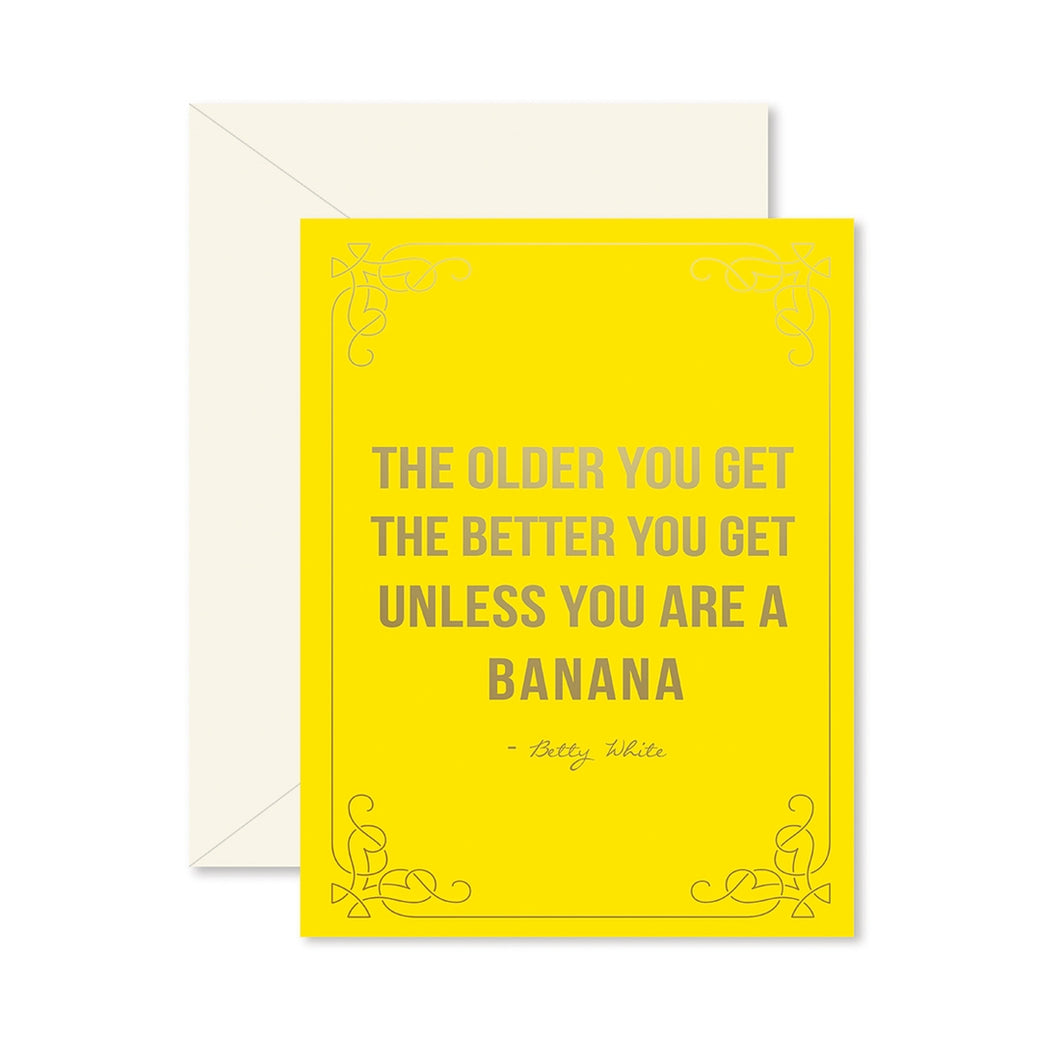 Birthday Banana Card