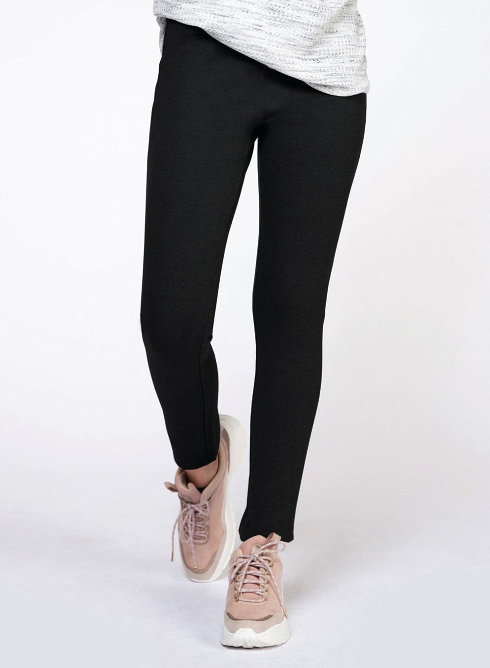 Knit Black Legging
