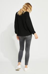 Black Tucker Sweater