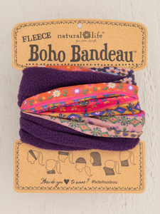 Fleece Boho Bandeau