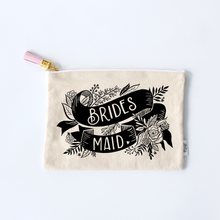 Load image into Gallery viewer, Bridesmaid Zippered Pouch