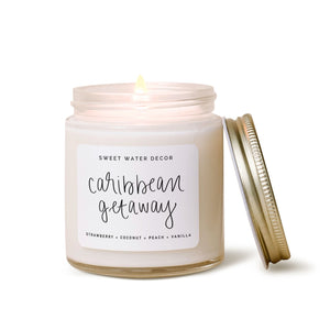 Mini Caribbean Getaway Soy Candle