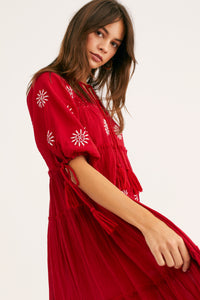 Celestial Skies Embroidered Dress