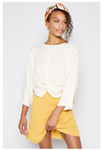 Load image into Gallery viewer, Cha Cha Stripe Knit Top