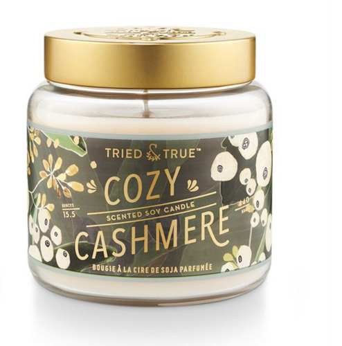 Cozy Cashmere Large Jar Candle