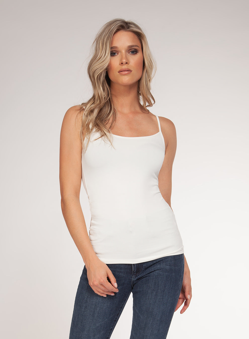 Basic White Cami