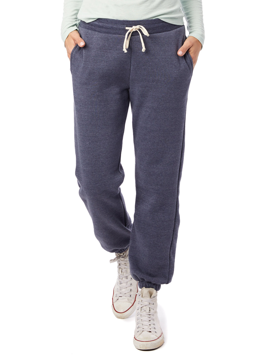 Eco True Navy Fleece Jogger