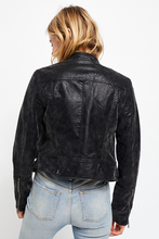 Load image into Gallery viewer, Fenix Vegan Moto Jacket in Black