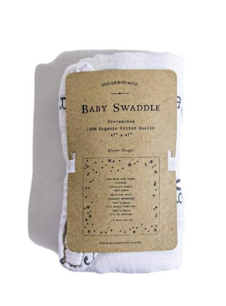 May You Touch Fireflies Baby Swaddle
