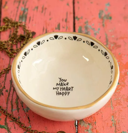 Heart Happy Trinket Bowl