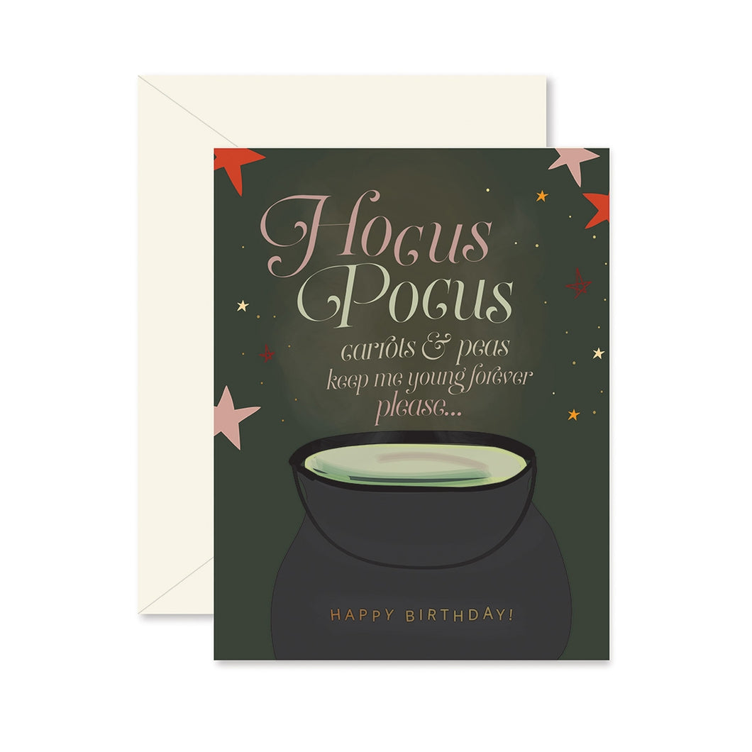 Hocus Pocus Birthday Card