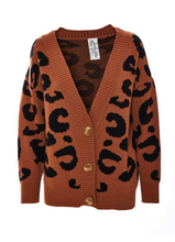 Load image into Gallery viewer, Hunter Leopard Cardigan