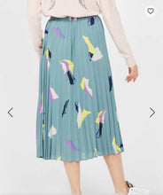 Load image into Gallery viewer, Teal Multicolor Skirt