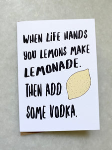 Lemonade Vodka