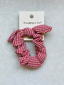 Gingham Scrunchie - 4 colors