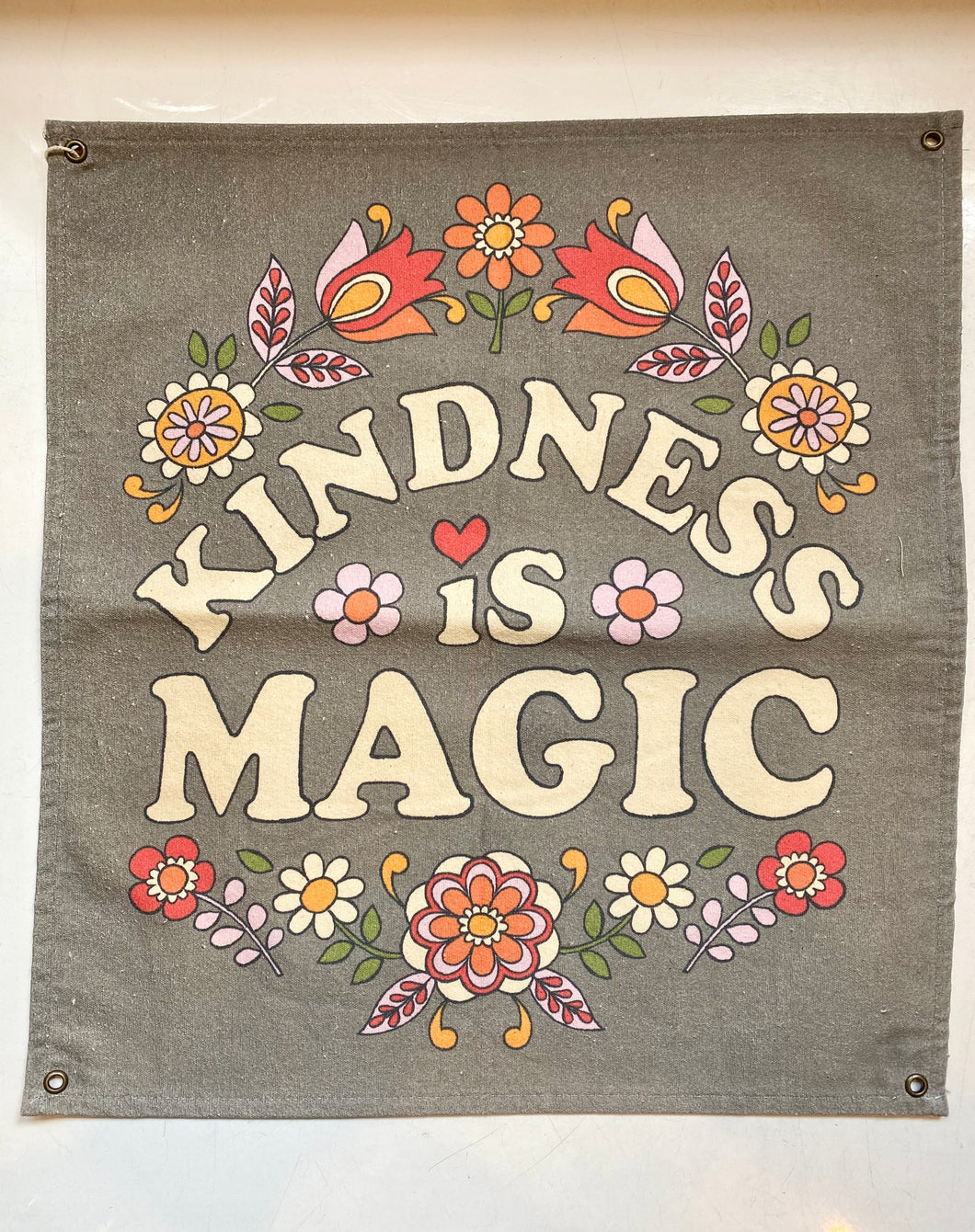 Kindness Is Magic Wall Hanging