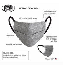 Load image into Gallery viewer, Mask Package of 2 - Black, Grey, Leopard and Camo