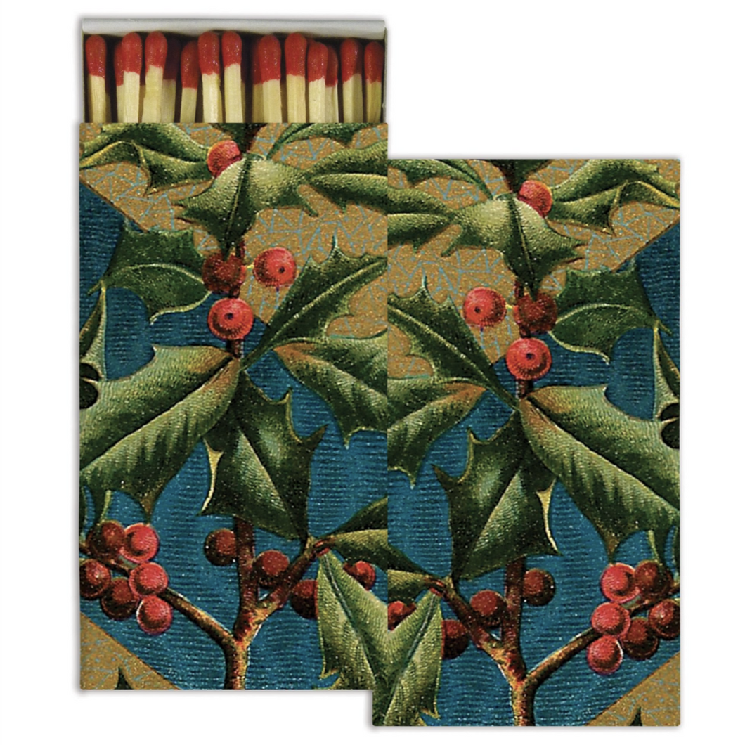 Victorian Holly Matches