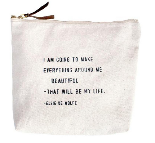 I'm Going to Make Everything Beautiful Canvas Bag
