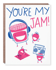 You're My Jam Card