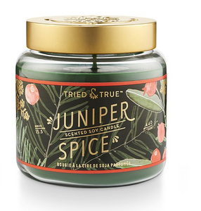 Juniper Spice Large Jar Candle