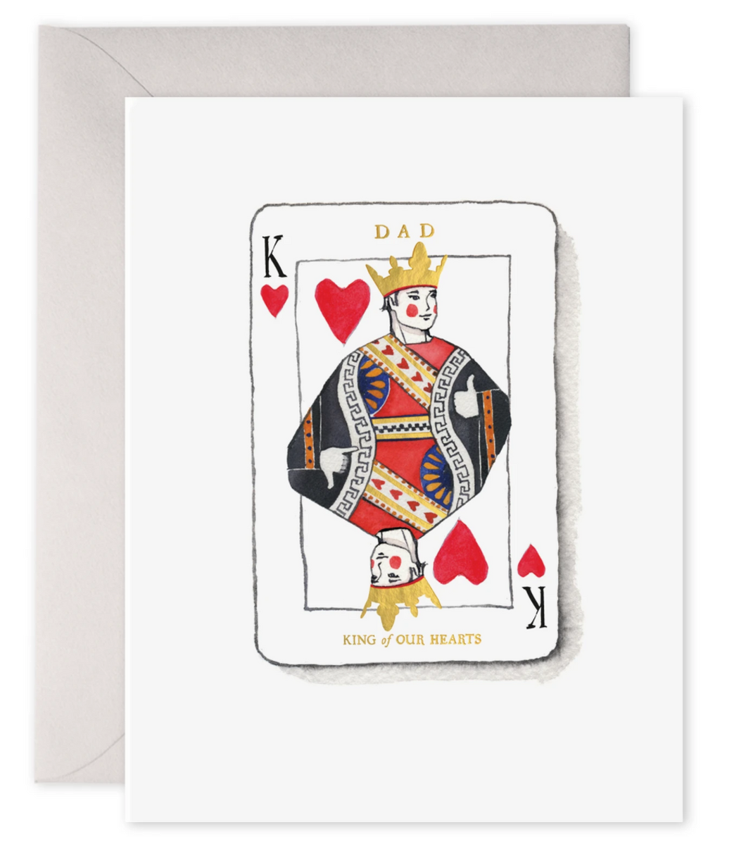 King Dad Card