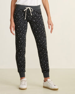 Leopard Fleece Jogger
