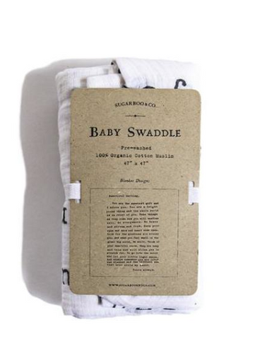 Letter to Sophie Baby Swaddle