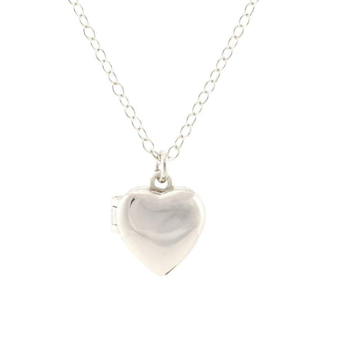 Silver Small Heart Locket