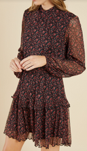 Load image into Gallery viewer, Midnight Meadow Dress