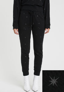 Alessa Metallic Star Sweatpant