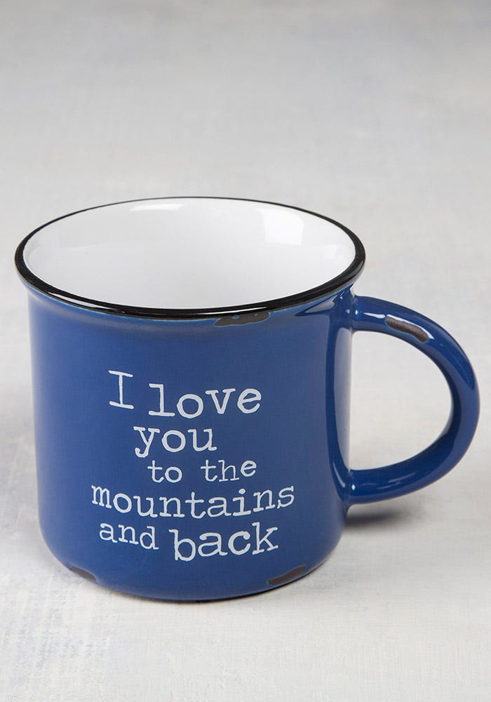 Mountains and Back Camp Mug