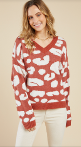 All Eyes Sweater