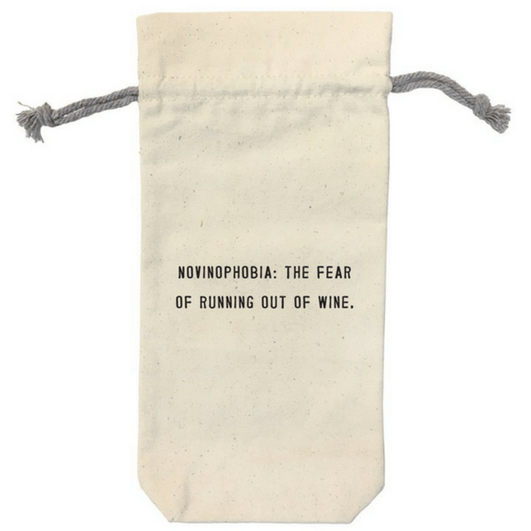 Novinophobia Wine Bag