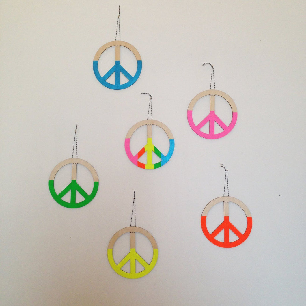 Peace Wall Sign Charm
