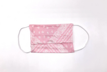 Load image into Gallery viewer, Youth Mask Package of 2 - Blue Bandana, Pink Bandana & Grey