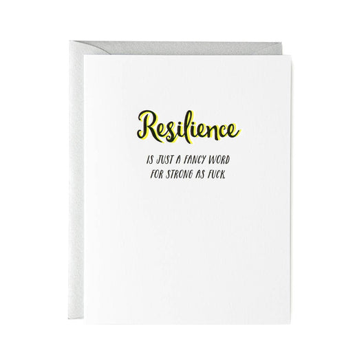 Resilience Card