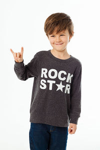 Boys Rock Star Pullover
