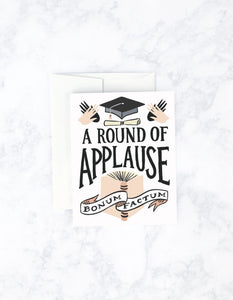 A Round Of Applause Card