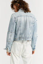 Load image into Gallery viewer, Light Wash Rumors Denim Jacket
