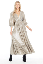 Load image into Gallery viewer, Sequin Wren Maxi Dress