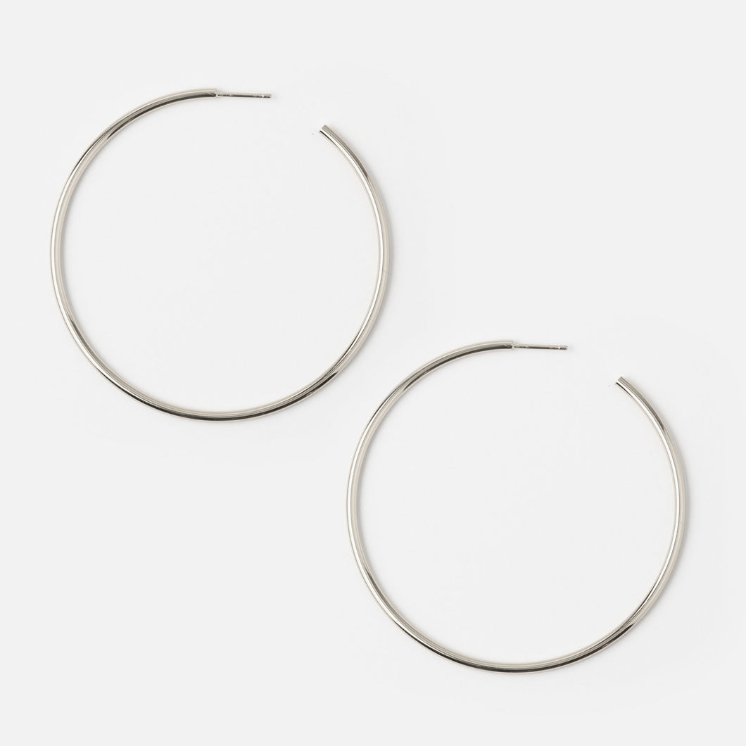 Hoops- Gold or Silver