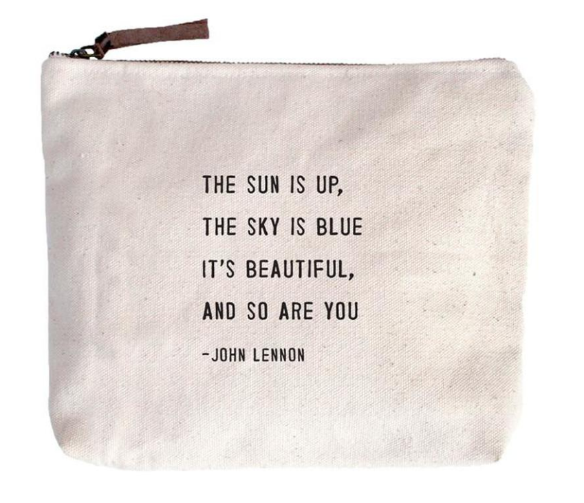 The Sun is Up Canvas Bag